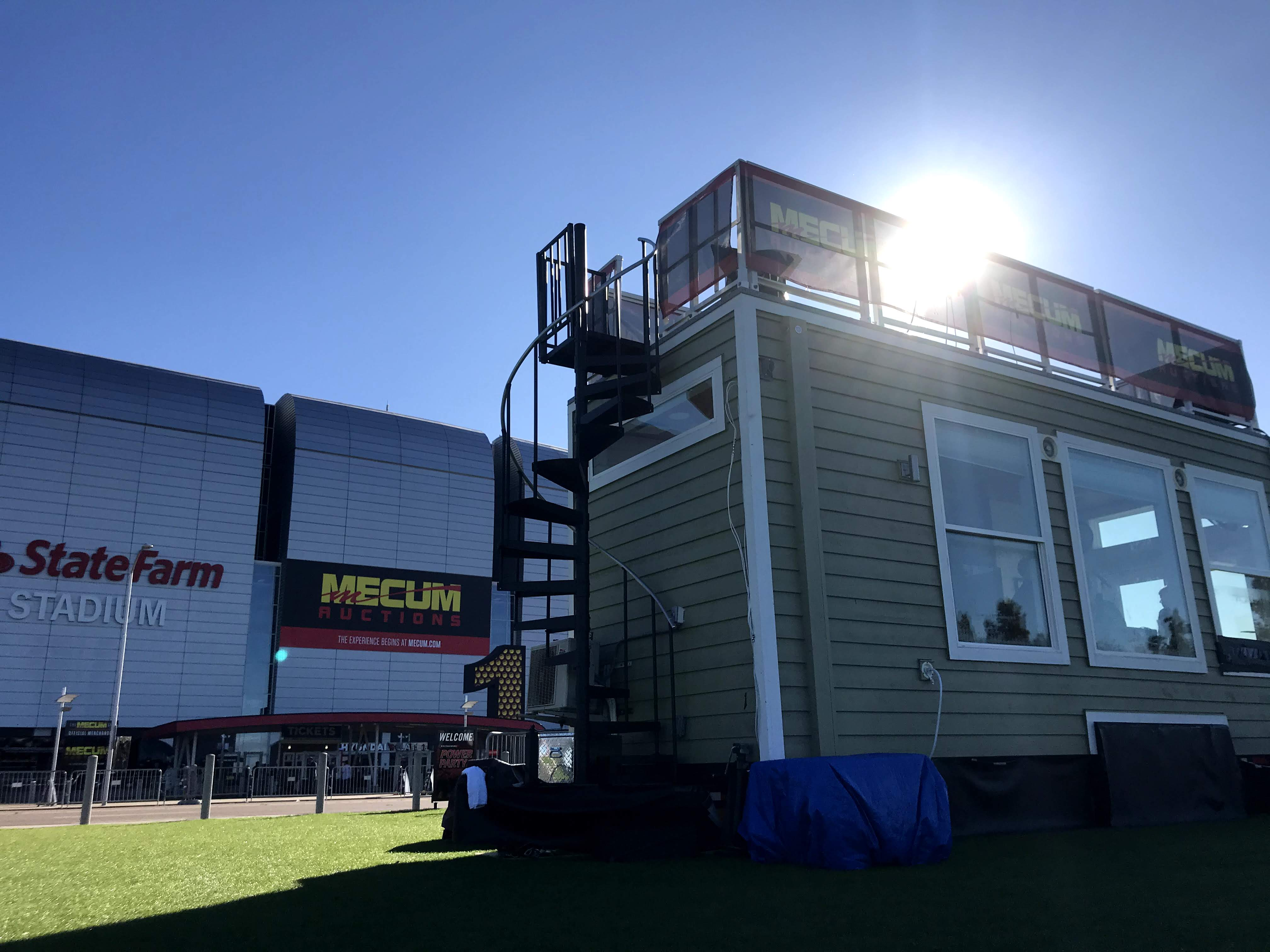 INSITE hospitality skyview suites at mecum sunset sessions