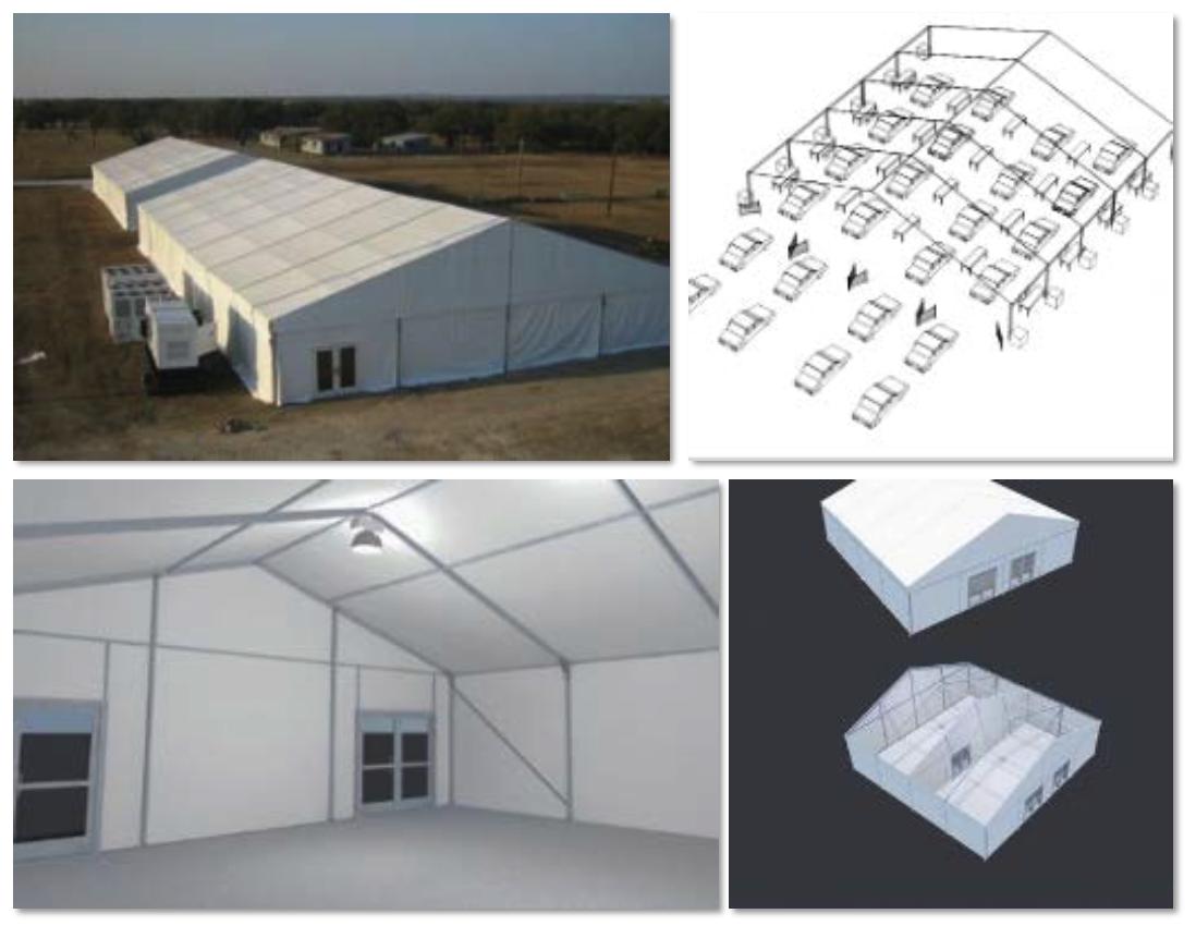 emergency response tents